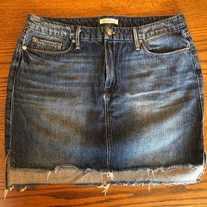 Like New - Good American Denim Mini Skirt
